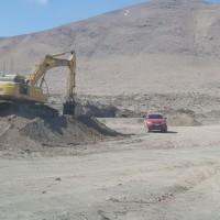 Seremi de Bienes Nacionales detecta explotación ilegal de áridos en comuna de Pozo Almonte.