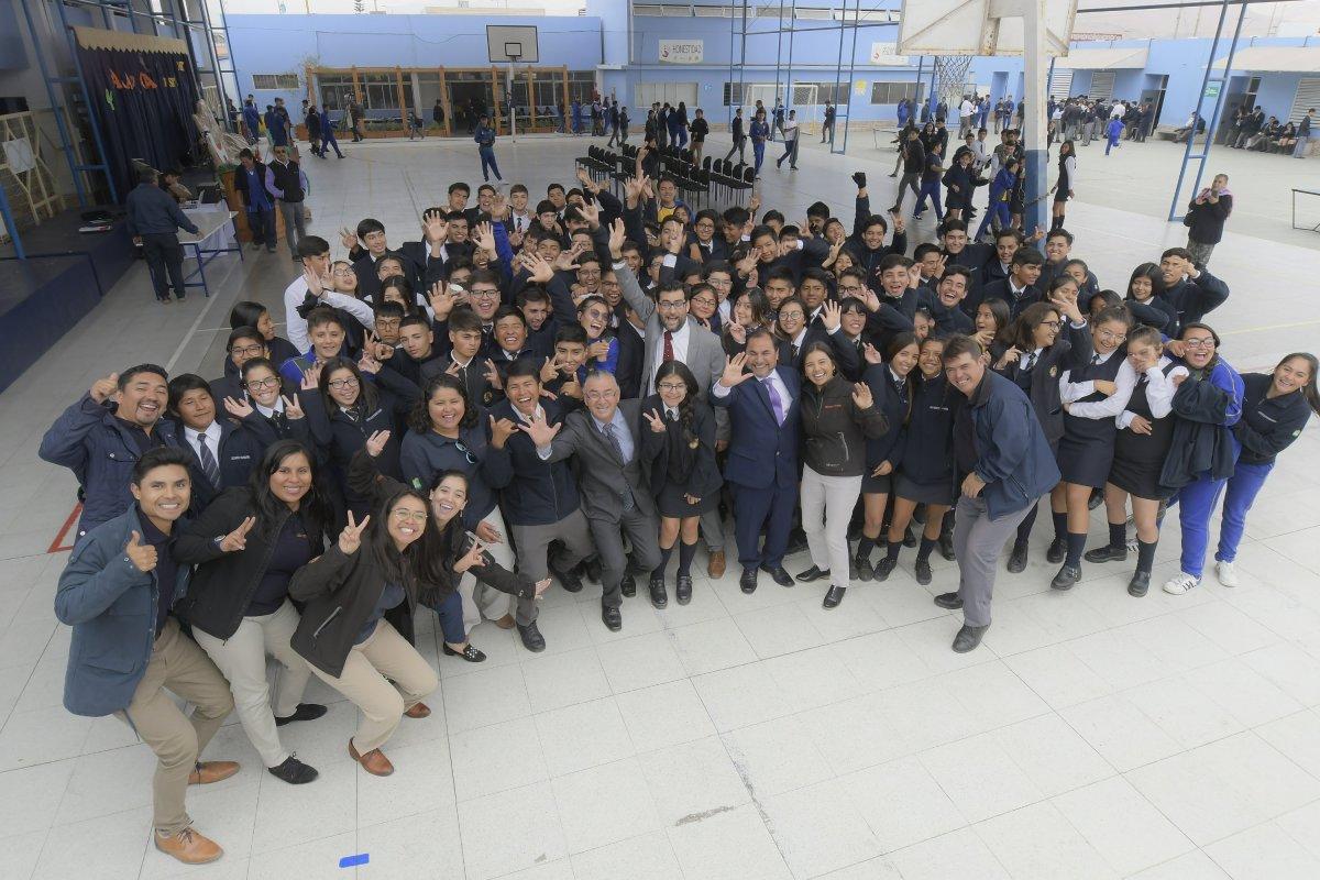 Liceo Juan Pablo II es el segundo mejor liceo técnico profesional de Chile en prueba SIMCE