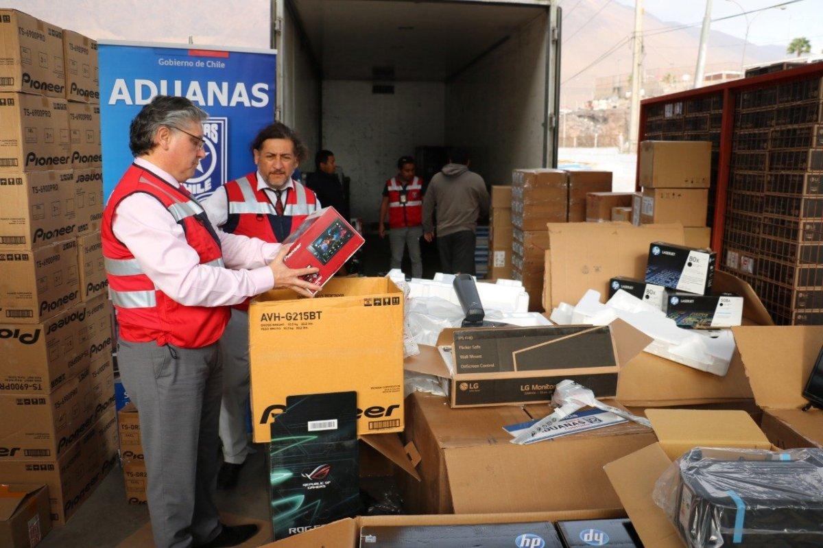 Aduanas intensifican trabajo colaborativo en zonas extremas.