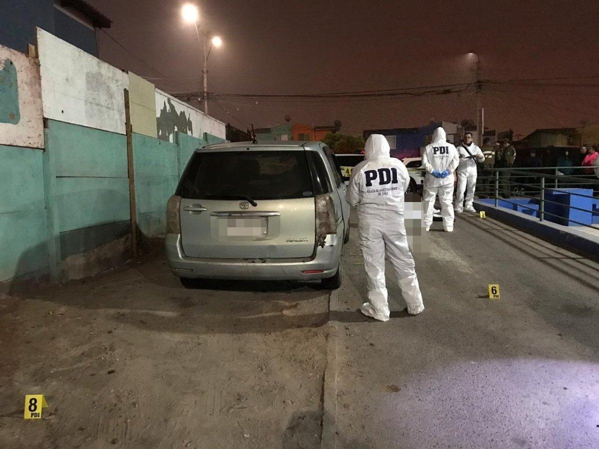 PDI investiga móvil de homicidio en contra de joven de 20 años.