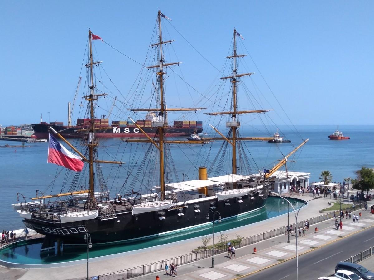 """Museo """"Corbeta Esmeralda"""" será el centro de las conmemoraciones de las glorias navales este 21 de mayo."""
