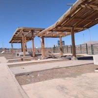 Parque Parapente Alto Hospicio millonaria obra en total abandono y destruida por los robos.