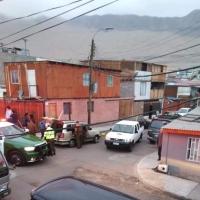 Joven barbero Iquiqueño es baleado saliendo desde su domicilio.