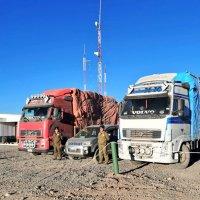 Carabineros de la tenencia Ujina incauta 4 camiones cargados con contrabando