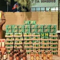 Carabineros ha incautado 976 litros de alcohol en La Tirana.