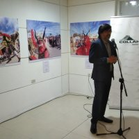 Fotografías de la Fiesta de La Tirana y dibujos del Mes del Mar cautivan a los asistentes.