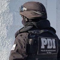 PDI Investiga violento asalto que terminó con un sujeto herido a bala.