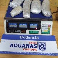 Aduanas detecta a 6 pasajeros desde Tacna transportando droga.