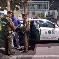 Carabineros de la 1ra. Comisaría detiene a sujeto por lesiones con arma blanca en las ramadas.