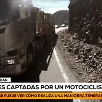 Detienen a camionero de empresa Iquiqueña por temeraria maniobra en Argentina.