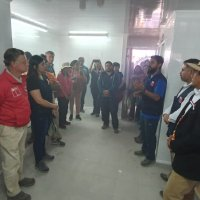En Huaviña se inauguró la primera planta procesadora de la comuna de Huara.
