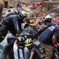 Grupo usar de Bomberos de Iquique realizó ejercicio de rescate.