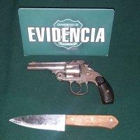 Detenido por apuñalar y portar arma de fuego en el centro de Iquique.