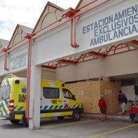 Inician obras de mejoramiento en sala de espera de la Urgencia del hospital
