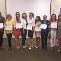 Exitoso cierre de Escuelas de Líderes Políticas de SernamEG y la ACHM en Tarapacá.