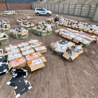 PDI Iquique incauta 5.064 pares de zapatillas falsificadas avaluadas en $303.840.000.