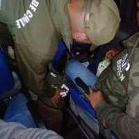 O.S.7 Ejemplar canino delhi detecta a familia Boliviana que internaba droga a Chile.