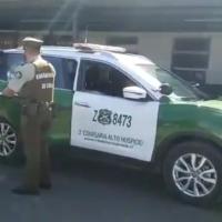 Carabineros del O.S.9 detuvieron al responsable del atropello a Ex-Cónsul de Italia.