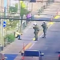 Carabineros de la 1ª comisaría detiene a hombre con COVID-19 transitando en la vía pública