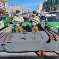 Carabineros incautan nueve armas largas durante fiscalización