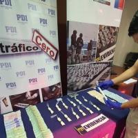 Alto Hospicio PDI detiene a pareja por microtráfico de drogas que comercializaban en Iquique
