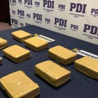 Operativo de PDI detiene a una Venezolana y un Boliviano por tráfico de droga en Alto Hospicio