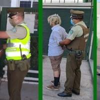 Carabineros registró un total de 793 personas detenidas durante la última semana.