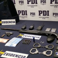 Unidad de Focos de Fiscalía y PDI detienen a imputados con armas de fuego