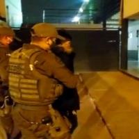 O.S.9 detiene a tres personas por Tráfico de armas