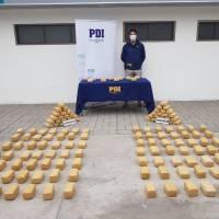 PDI IQUIQUE DESARTICULA ORGANIZACIÓN INCAUTANDO MÁS DE 157 KILOS DE DROGA AVALUADA EN $2.000.000.000