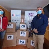 PDI DONA 400 FRAZADAS Y CHAQUETAS PARA PERSONAS EN SITUACIÓN DE CALLE
