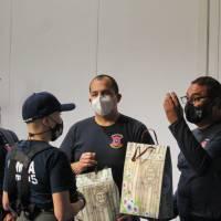 Actriz iquiqueña se suma al Cuerpo de Bomberos de Iquique