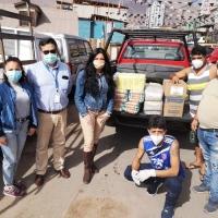 ZOFRI estrecha apoyo con comedores solidarios
