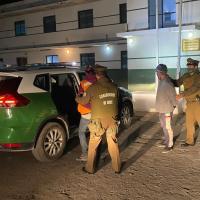Cinco extranjeros fueron sorprendidos ingresando al país por paso no habilitado