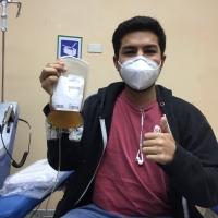 Donante de plasma llama a recuperados de Covid a ayudar a pacientes contagiados