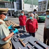 CARABINEROS ENVIARÁ 118 ARMAS PARA SU DESTRUCCIÓN