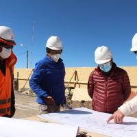 Inician obras de infraestructura en Colchane
