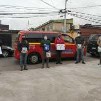 Autoridades verifican aplicación de protocolos sanitarios en el transporte turístico