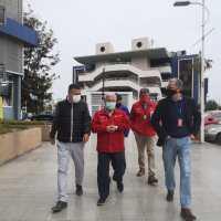 Intendente verificó medidas preventivas de Mall Zofri ante posible reapertura