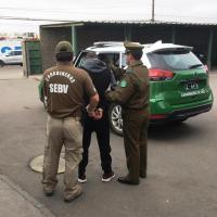 Carabineros detuvo a sujeto buscado por abuso sexual de menor de 14 años