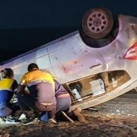 Mujer fallece en accidente de tránsito tras volcar vehículo conducido por joven de 17 años