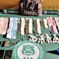 Investigación de Fiscalía y Carabineros logra detención de imputado con droga y municiones