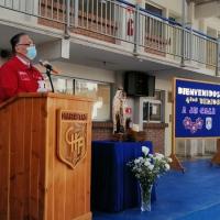 Bajo estrictas medidas sanitarias colegio de Alto Hospicio es el primero en retomar clases presenciales en la región