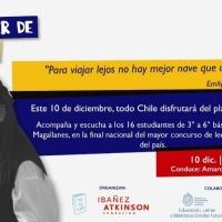 Este 10 de diciembre alumna de Iquique competirá en la final del concurso de lectura más grande del país