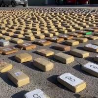 Carabineros detecta vehículo abandonado en la pampa con 1.636 kilos de marihuana y 30 de pasta base