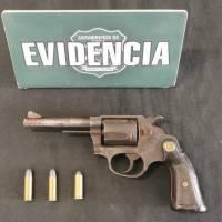 Detenidos por posesión, tenencia o porte ilegal de armas