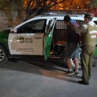 Detenido por conducción en estado de ebriedad con resultado de daños y lesiones en colisión