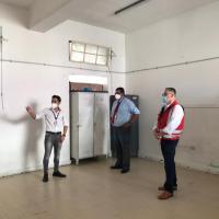Salud reintegra dos colegios municipales habilitados como estadías sanitarias transitorias