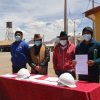 Inician construcción de Oficina de Transito de Colchane