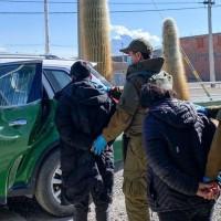 Detienen a pareja de bolivianos por contrabando de salida hacia Bolivia